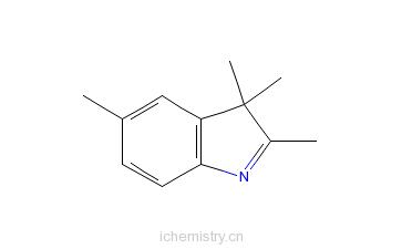 CAS:25981-82-2_2,3,3,5-四甲基吲哚的分子结构