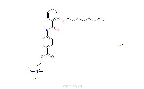 CAS:26095-59-0_奥替溴铵的分子结构