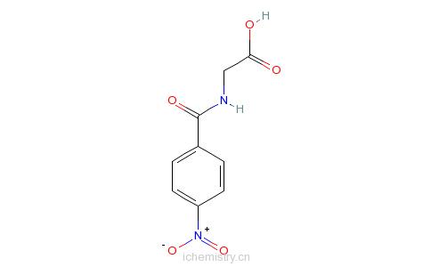 CAS:2645-07-0_4-硝基马尿酸的分子结构