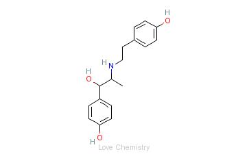 CAS:26652-09-5_利托君的分子结构