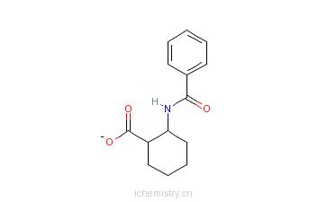 CAS:26685-82-5_顺-(1R,2S)-(+)-苯甲酰胺环己烷羧酸的分子结构