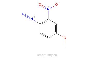 CAS:27165-25-9_冰染重氮组分1的分子结构