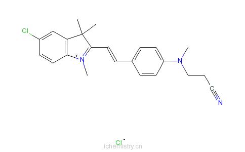 CAS:27564-02-9_C.I.碱性红27的分子结构