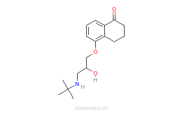 CAS:27591-01-1_布诺洛尔的分子结构