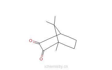 CAS:2767-84-2_L-樟脑醌的分子结构
