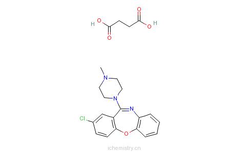 CAS:27833-64-3_丁二酸洛沙平的分子结构