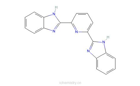 CAS:28020-73-7_2,6-二(2-苯并咪唑基)吡啶的分子结构
