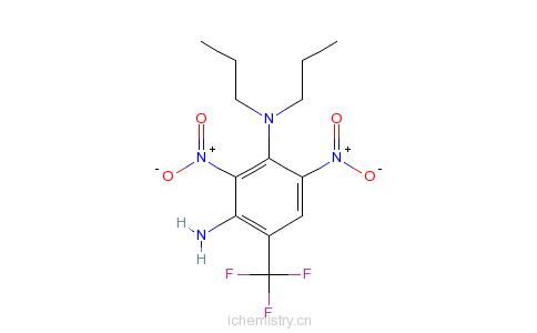 CAS:29091-21-2_氨基丙氟灵的分子结构