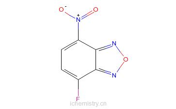 CAS:29270-56-2_4-氟-7-硝基苯并-2-氧杂-1,3-二唑的分子结构
