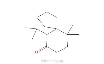 CAS:29461-14-1_异长叶烷酮的分子结构