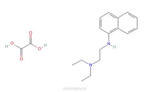 CAS:29473-53-8_草酸N-(2-二乙氨基乙基)-1-萘氨(请核实!)的分子结构