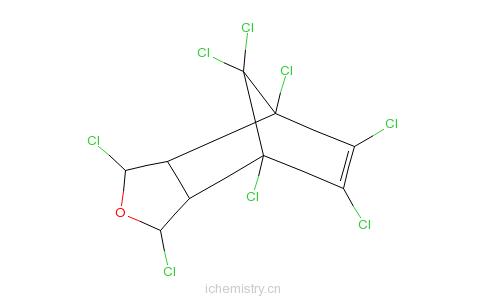 CAS:297-78-9_碳氯灵的分子结构