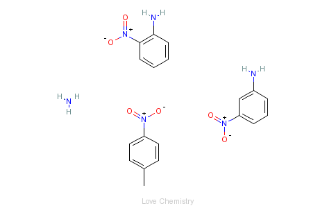 CAS:29757-24-2_硝基苯胺的分子结构