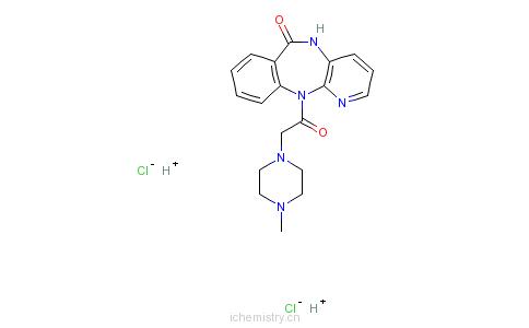 CAS:29868-97-1_盐酸哌仑西平的分子结构