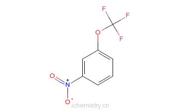 CAS:2995-45-1_间硝基三氟甲氧基苯的分子结构