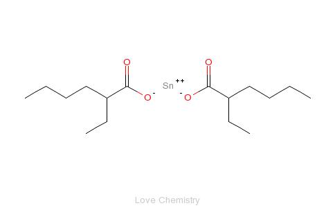 CAS:301-10-0_辛酸亚锡的分子结构