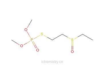CAS:301-12-2_砜吸磷的分子结构