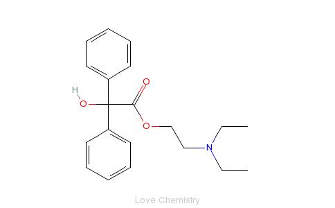 CAS:302-40-9_胃复康的分子结构