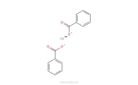 CAS:3026-22-0_苯甲酸镉的分子结构