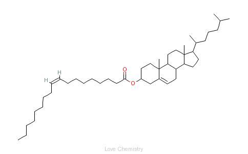 CAS:303-43-5_胆固醇油酸酯的分子结构