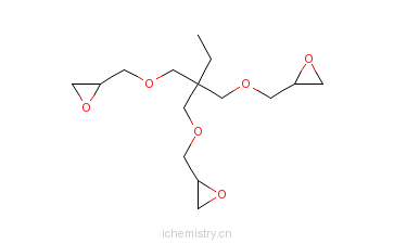 CAS:30499-70-8_三羟甲基丙烷三缩水甘油醚的分子结构
