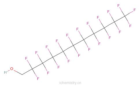 CAS:307-46-0_1H,1H-全氟辛基-1-醇的分子结构