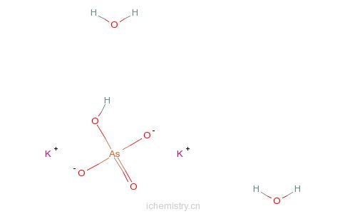 CAS:308103-48-2_砷酸氢二钾二水的分子结构
