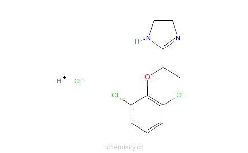 CAS:31036-80-3_洛非西定的分子结构