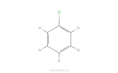CAS:3114-55-4_氯苯-D5的分子结构