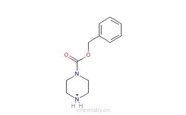 CAS:31166-44-6_苄基1-哌嗪甲酸酯的分子结构
