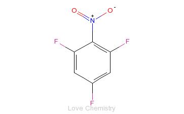 CAS:315-14-0_1,3,5-三氟-2-硝基苯的分子结构