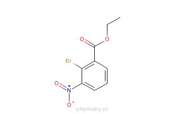 CAS:31706-23-7_2-溴-3-硝基苯甲酸乙酯的分子结构