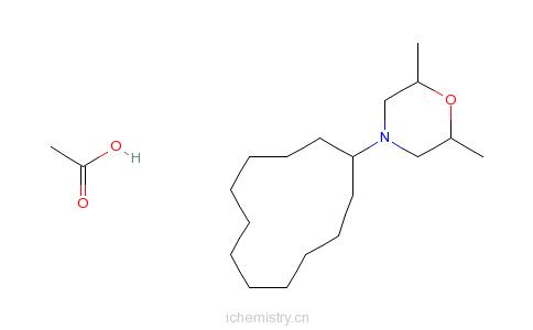 CAS:31717-87-0_吗菌灵醋酸盐的分子结构
