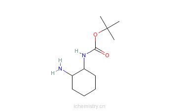 CAS:317595-54-3_1-N-Boc-1,2-环己二胺的分子结构