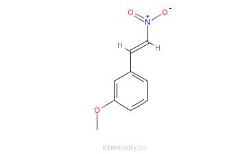 CAS:3179-09-7_1-(3-甲氧苯基)-2-硝基乙烯的分子结构