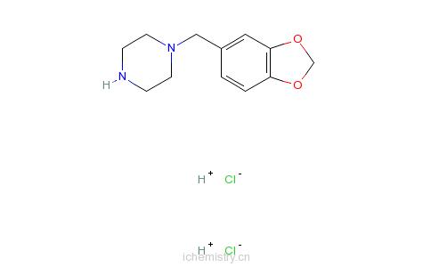 CAS:32231-06-4_1-胡椒基哌嗪的分子结构