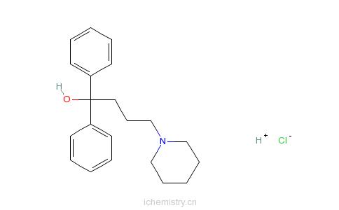 CAS:3254-89-5_盐酸地芬尼多的分子结构