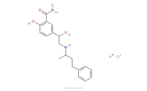 CAS:32780-64-6_盐酸拉贝洛尔的分子结构