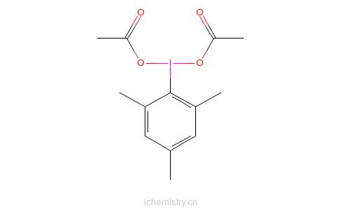 CAS:33035-41-5_碘代均三甲基苯二醋酸盐的分子结构