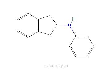 CAS:33237-72-8_N-苯基-2-氨基茚满的分子结构