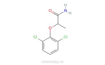 CAS:344411-67-2_2-(2,6-二氯苯氧基)丙酰胺的分子结构