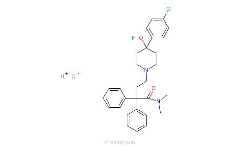 CAS:34552-83-5_盐酸洛哌丁胺的分子结构