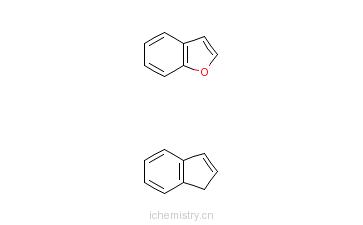 CAS:35343-70-5_苯并呋喃与1H-茚的聚合物的分子结构