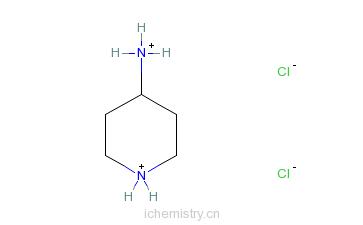 CAS:35621-01-3_4-氨基哌啶二盐酸盐的分子结构