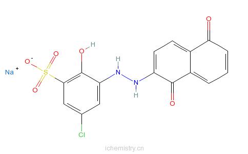 CAS:3618-60-8_媒介黑7的分子结构