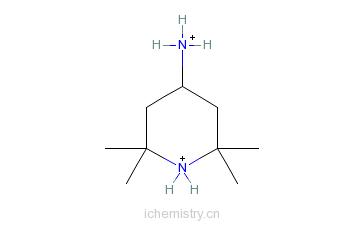 CAS:36768-62-4_2,2,6,6-四甲基哌啶胺的分子结构