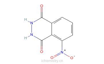CAS:3682-15-3_3-硝基邻苯二甲酰肼的分子结构