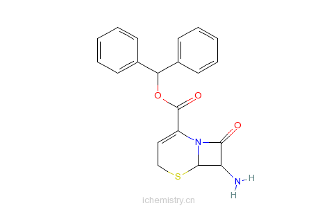 CAS:36923-21-4_头孢布烯母核的分子结构
