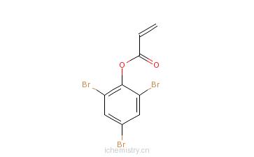 CAS:3741-77-3_2,4,6-三溴苯丙烯酸酯的分子结构