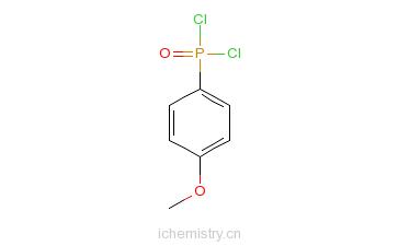 CAS:37632-18-1_4-甲氧苯基磷酸二氯的分子结构